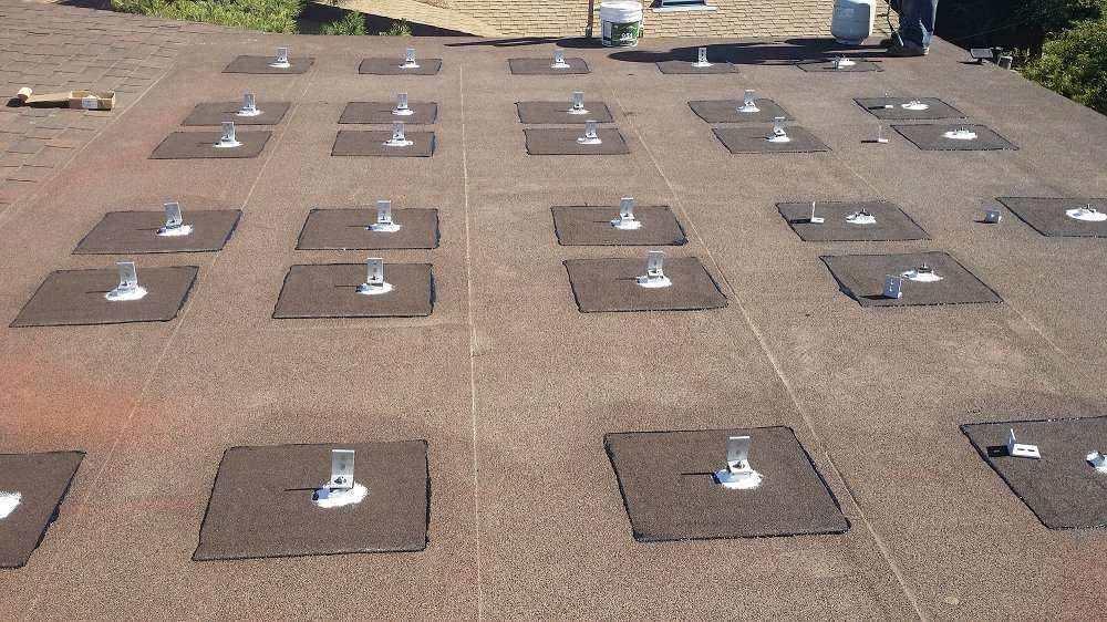 Solar Stand Repair Work